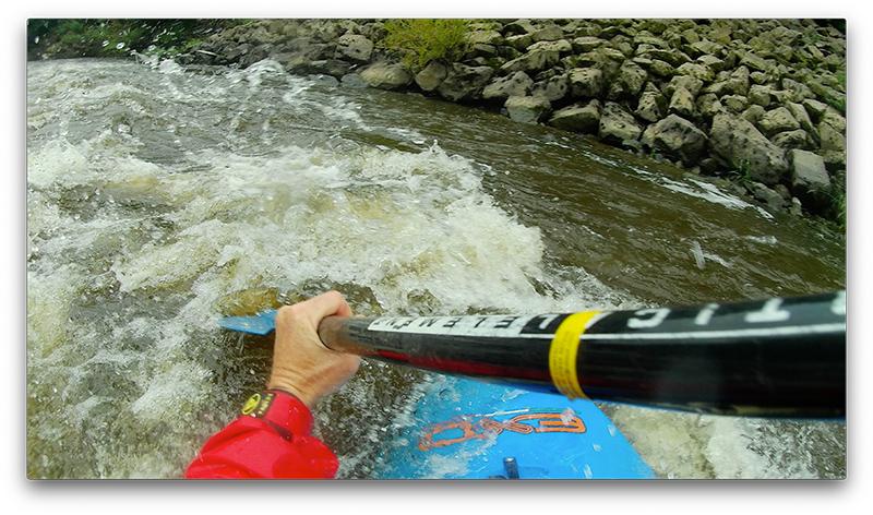 AKASO Brave 7 LE review POV kayak