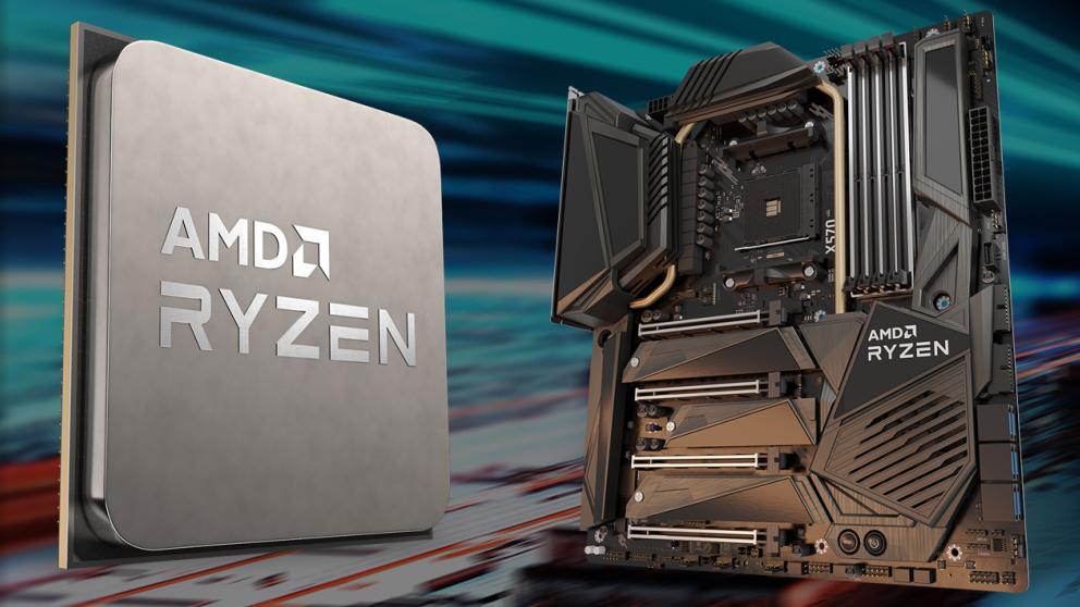 AMD's new Zen3 based Ryzen 5000 processors. Image: AMD composite.