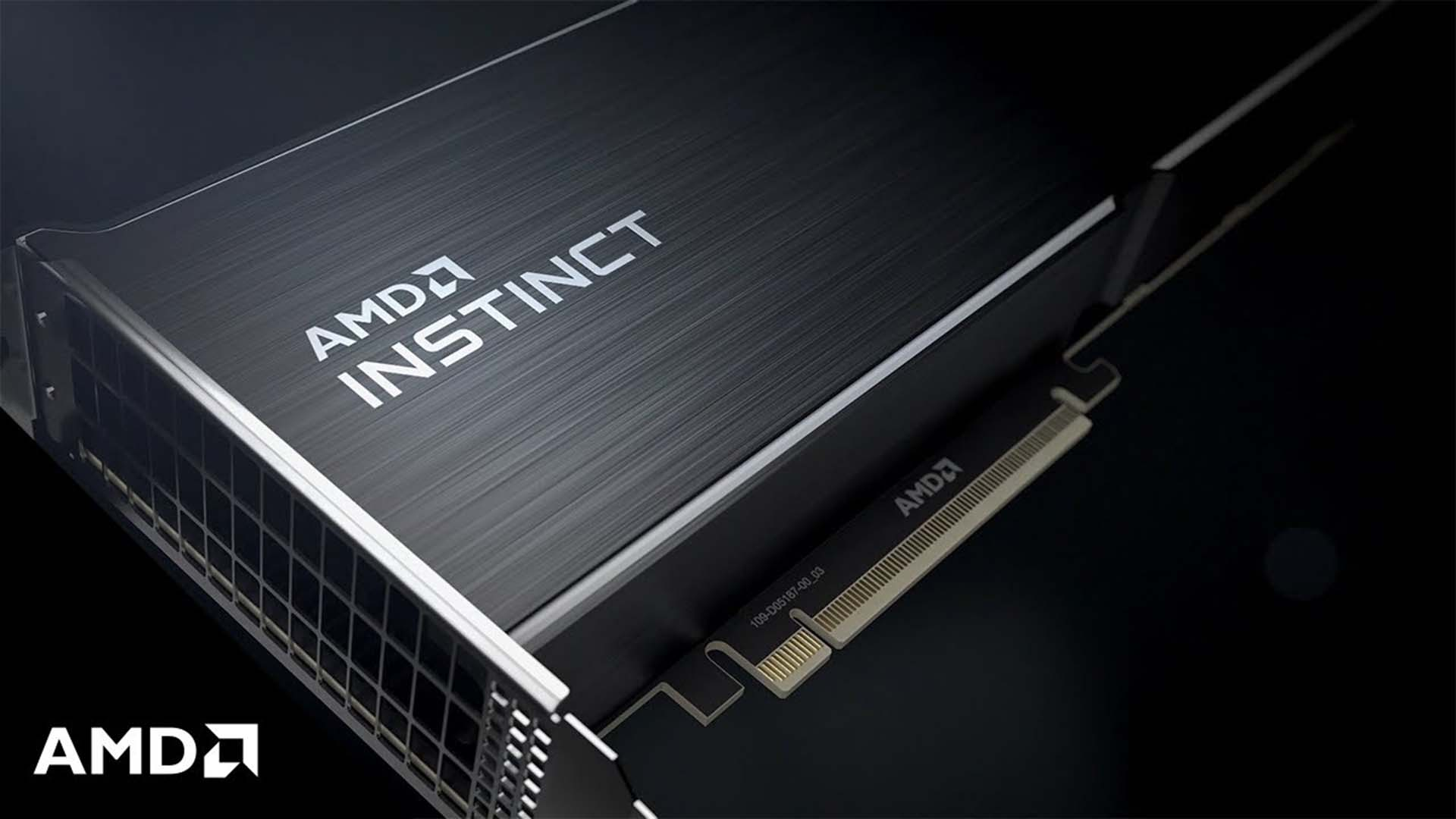 AMD Instinct GPU. Image: AMD.