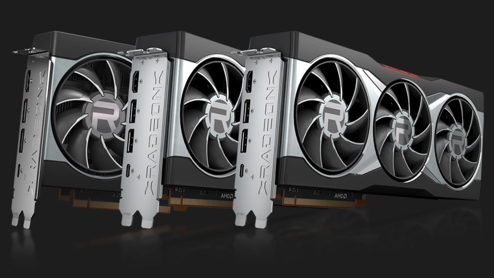 AMD Radeon 6000 Series 3 GPUs. Image: AMD.