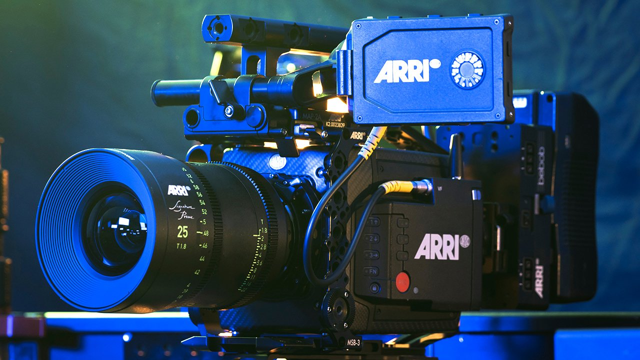 An ARRI ALEXA being used on a separate film shoot. Image: