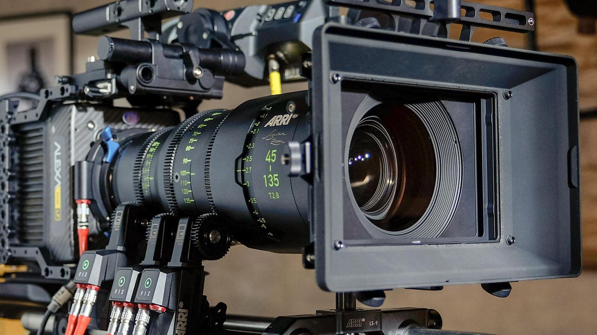 ARRI Signature Zoom cine lenses.