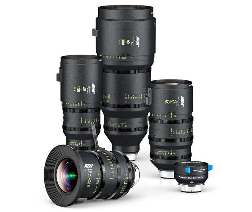 ARRI Signature Zoom lenses