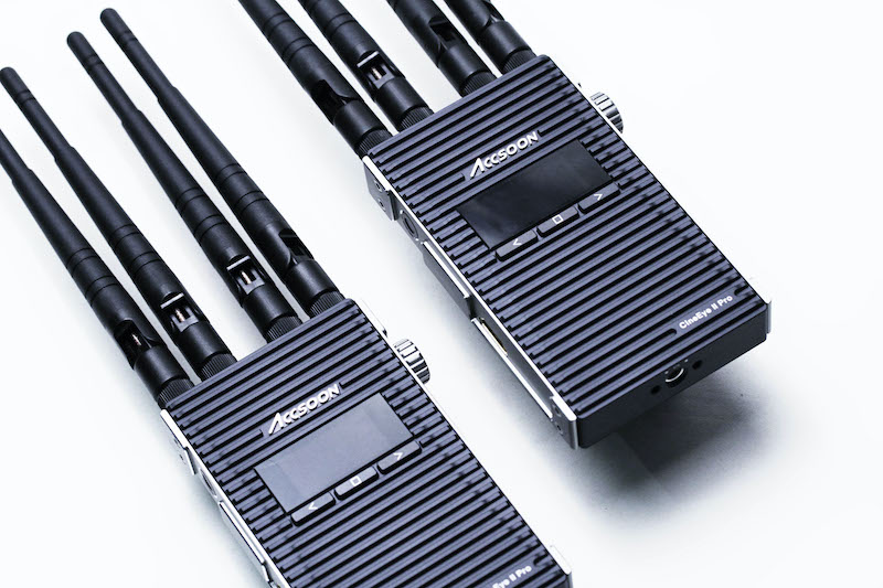 Accsoon CineEye II Pro transmitter and receiver.