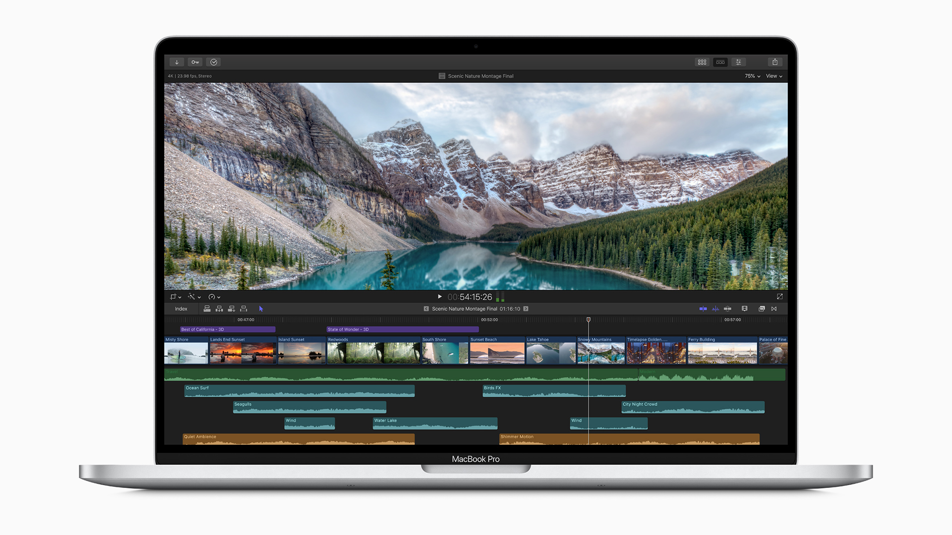 The 16-inch MacBook Pro released last December. Image: Apple.