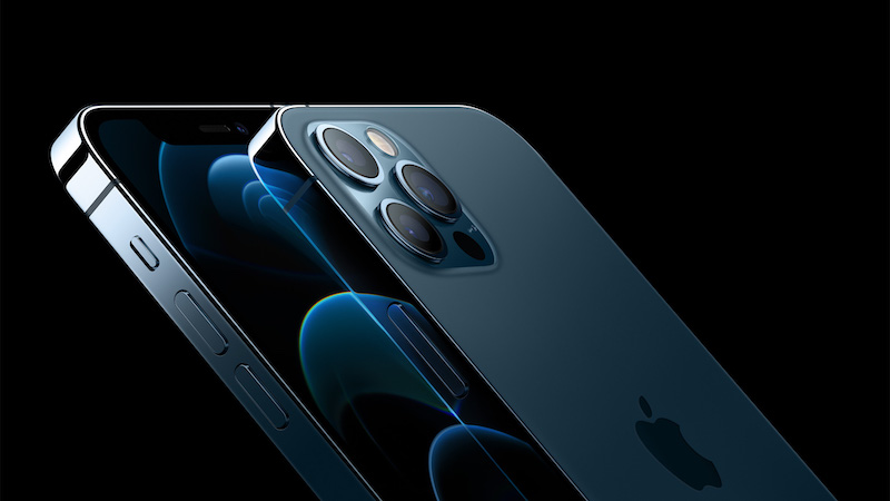 iPhone 12 Pro cameras. Image: Apple.