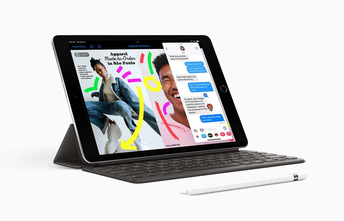 The 9th gen iPad.