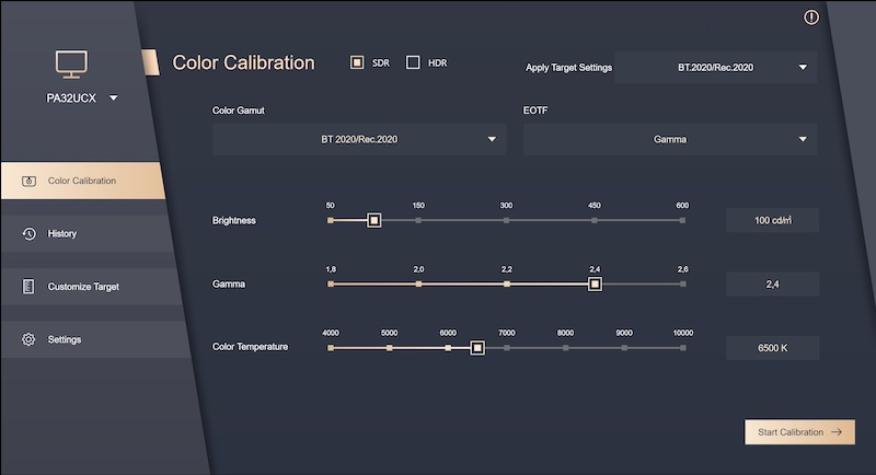 Asus colour calibration software V2