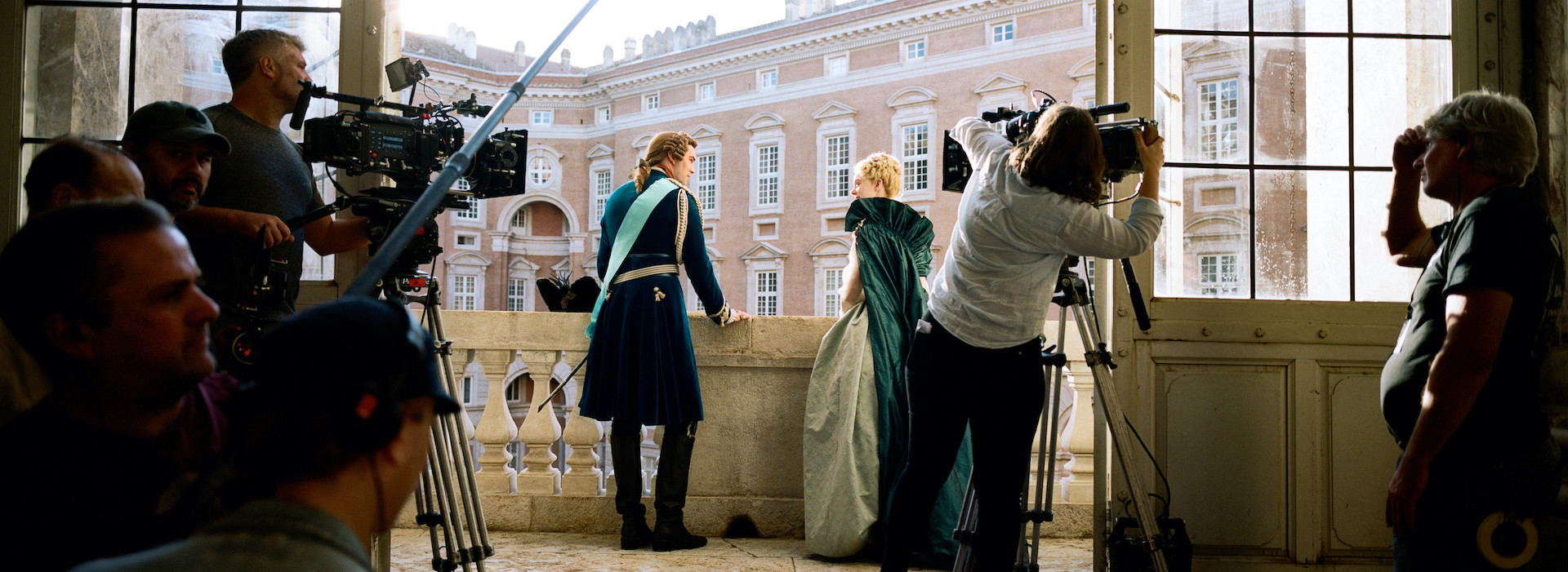 Behind the scenes on the set of The Great.
