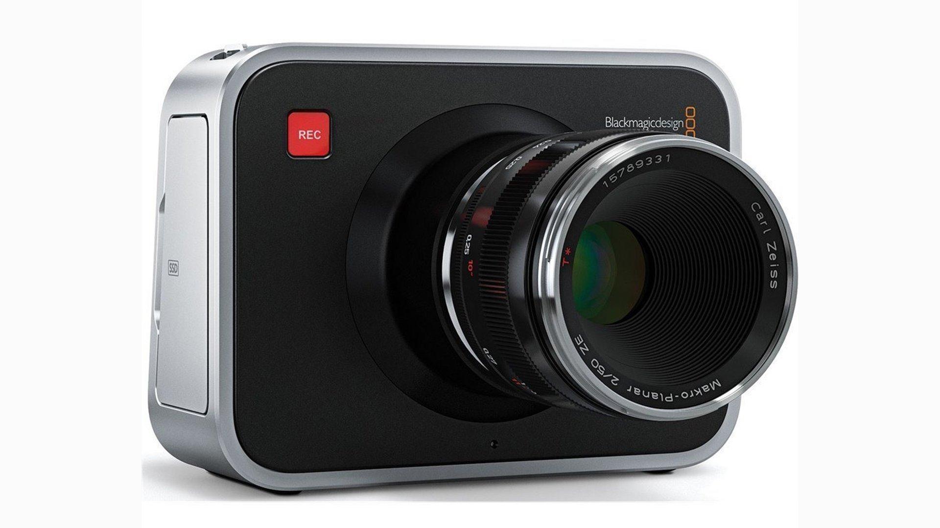 Blackmagic Design Cinema Camera 2.5K. Image: Blackmagic Design.
