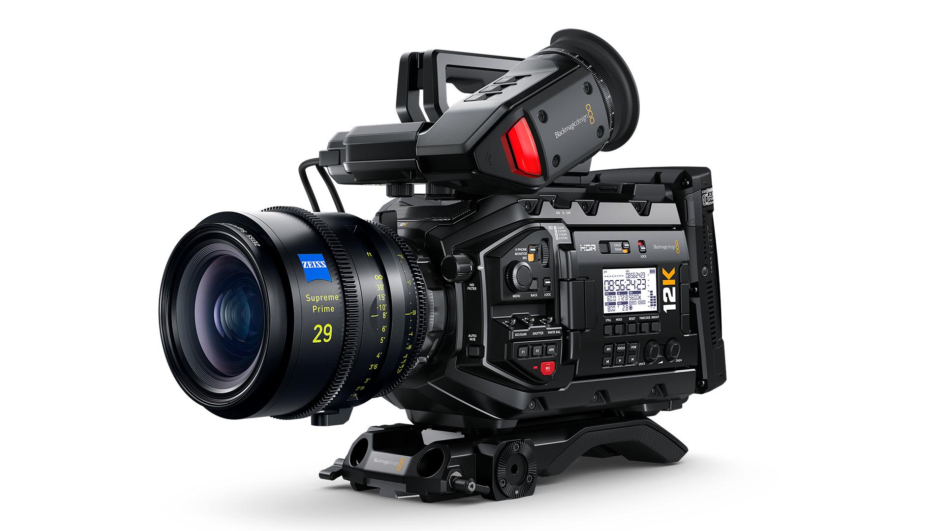 The URSA Mini Pro 12G. Image Blackmagic Design.