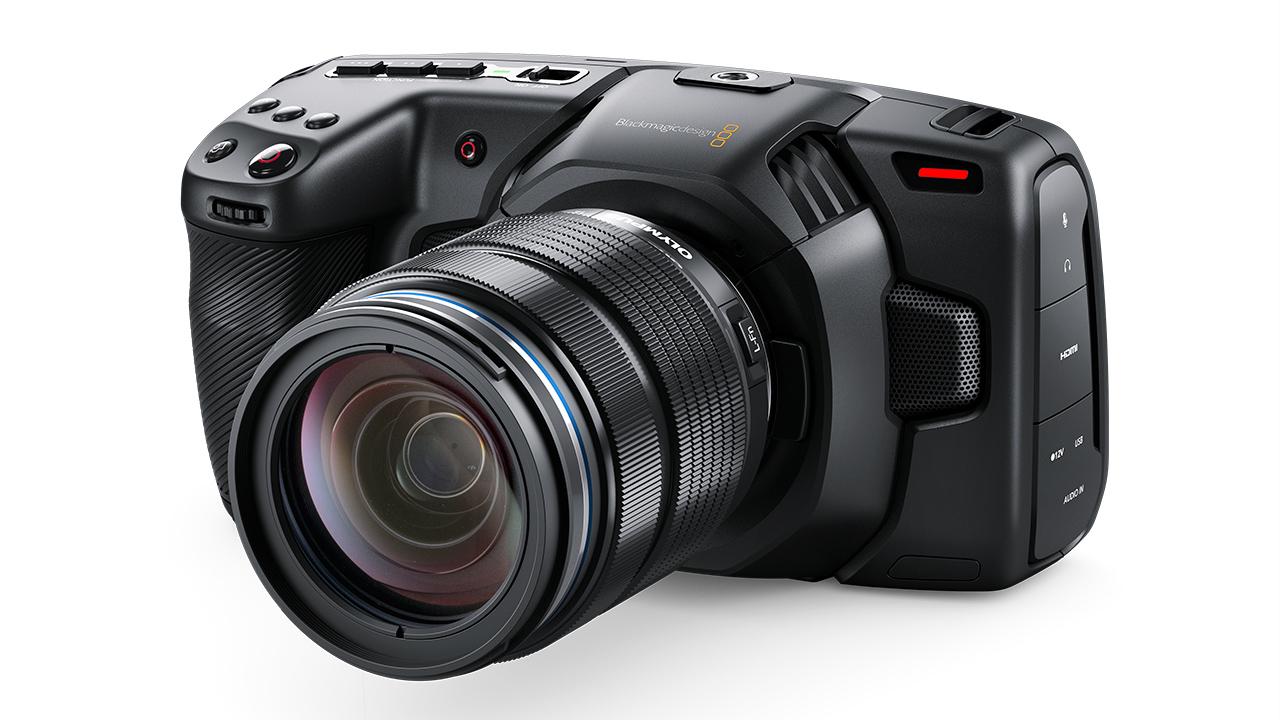 The Blackmagic Pocket Cinema Camera 4K. Image: Blackmagic Design.
