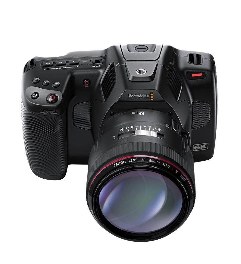 Blackmagic Pocket Cinema Camera 6K Pro BMPCC 6K Pro.