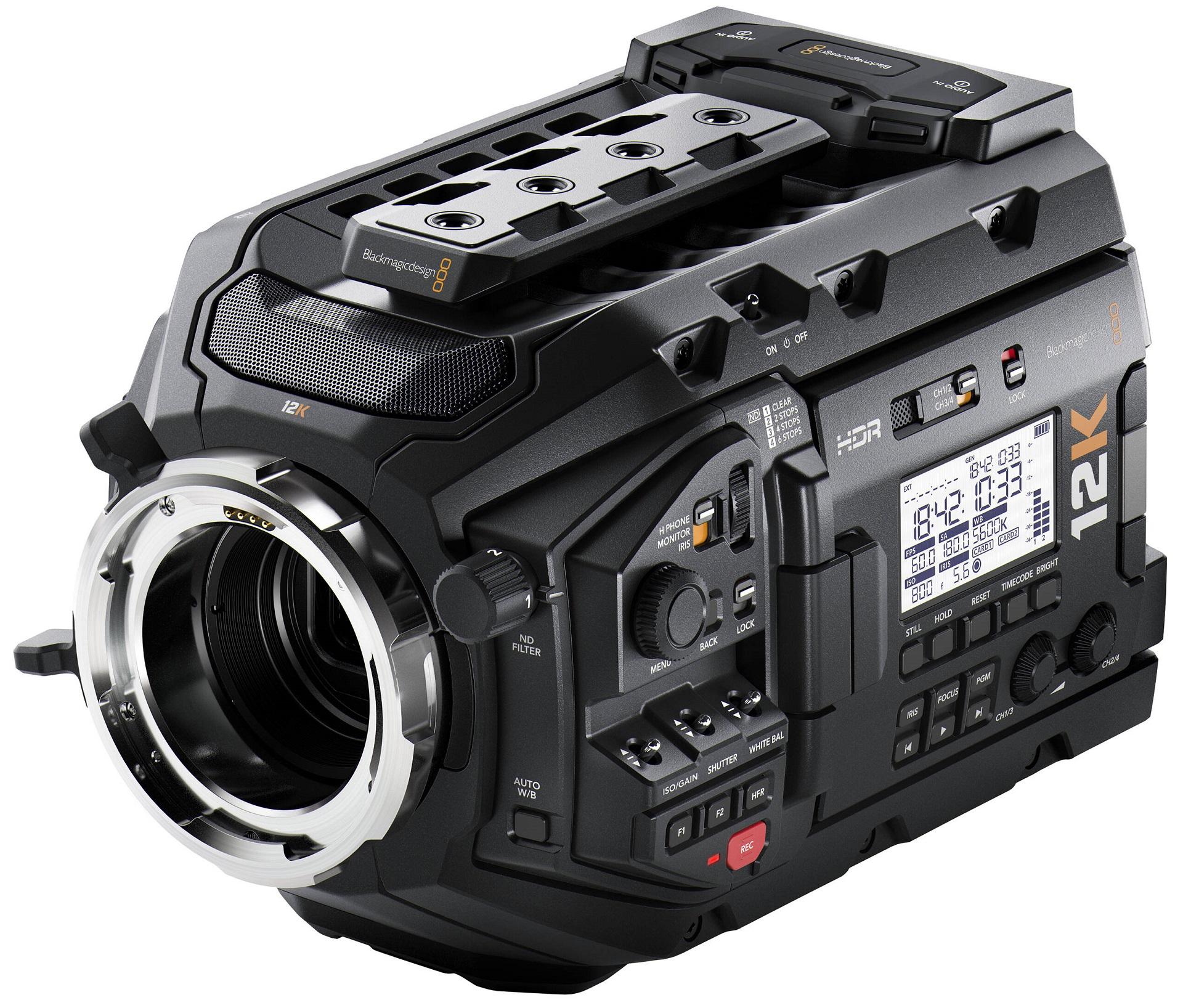 Blackmagic Design URSA Mini Pro 12K.