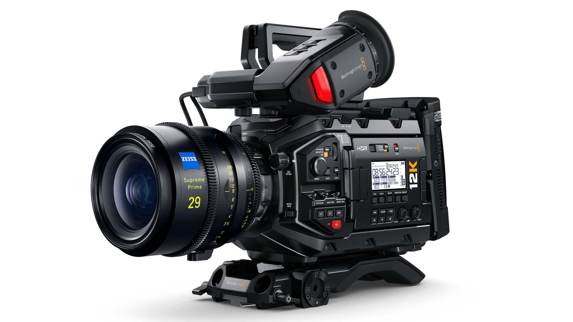 The URSA Mini Pro 12K. Image: Blackmagic Design.