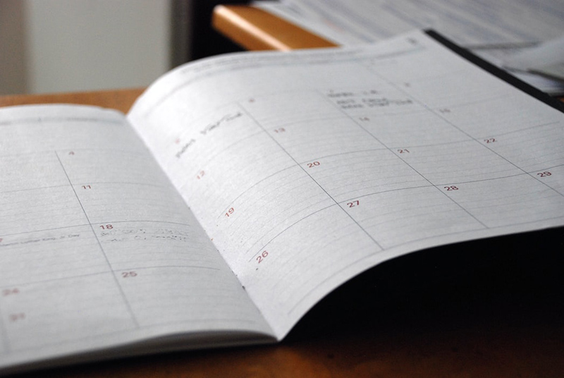 Planning your filming schedule is essential.