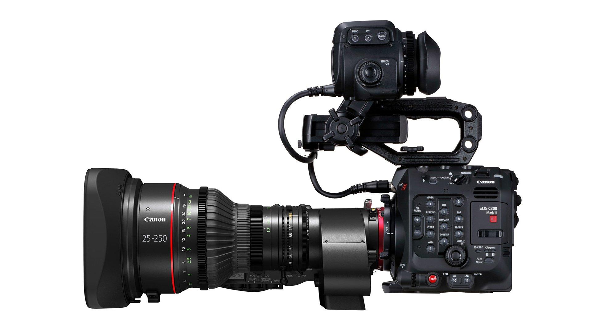 The Canon C300 MkIII