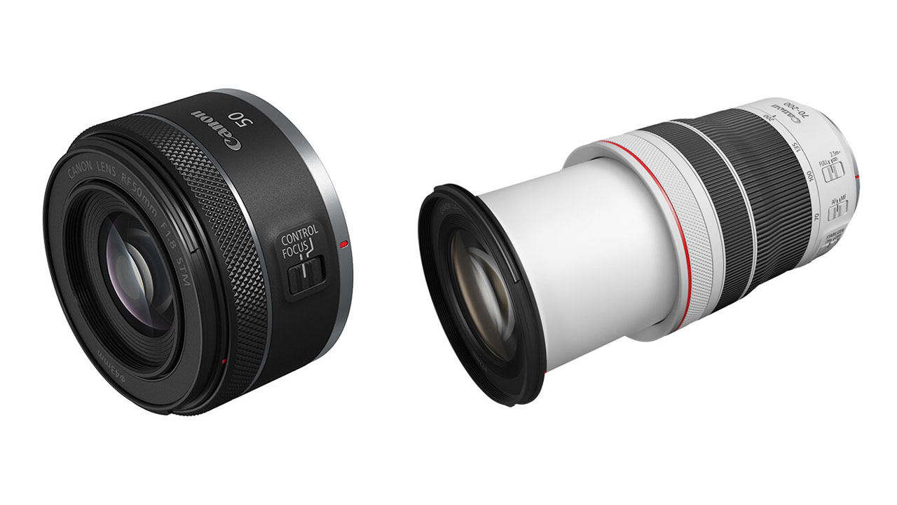 Canon Introduces New 50mm f/1.8 and 70-200mm f/4 RF-Mount Lenses