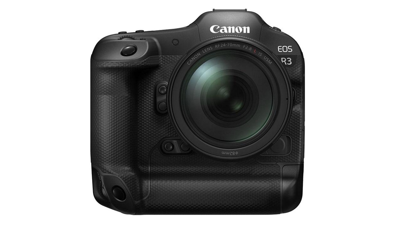 The newly announced Canon EOS R3. Image: Canon.