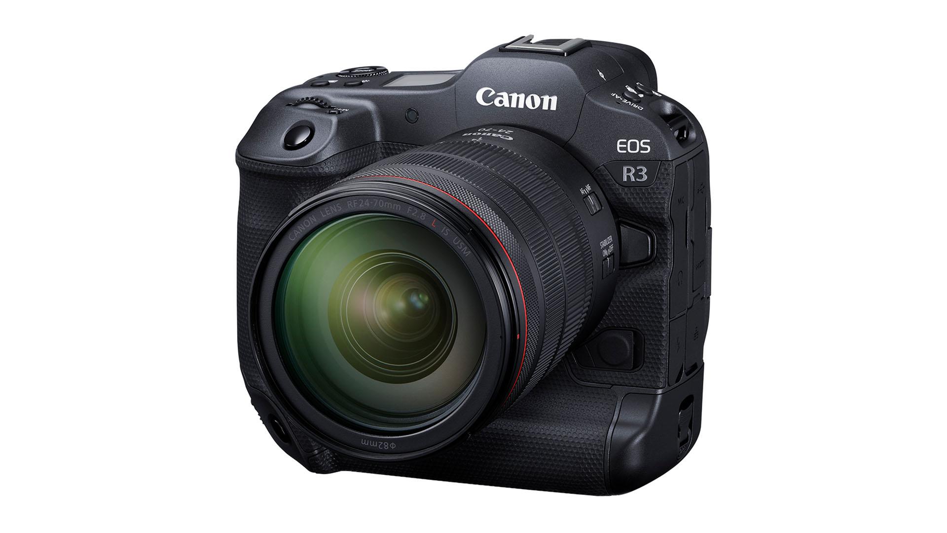 The Canon EOS R3. Image: Canon.