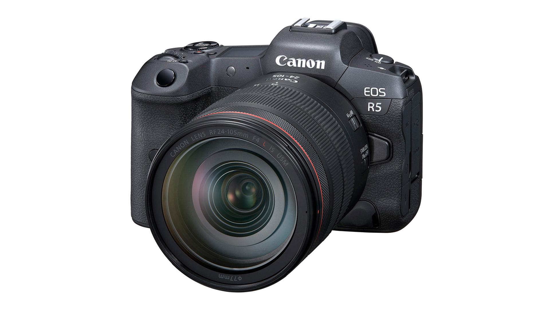 Canon EOS R5. Image: Canon.