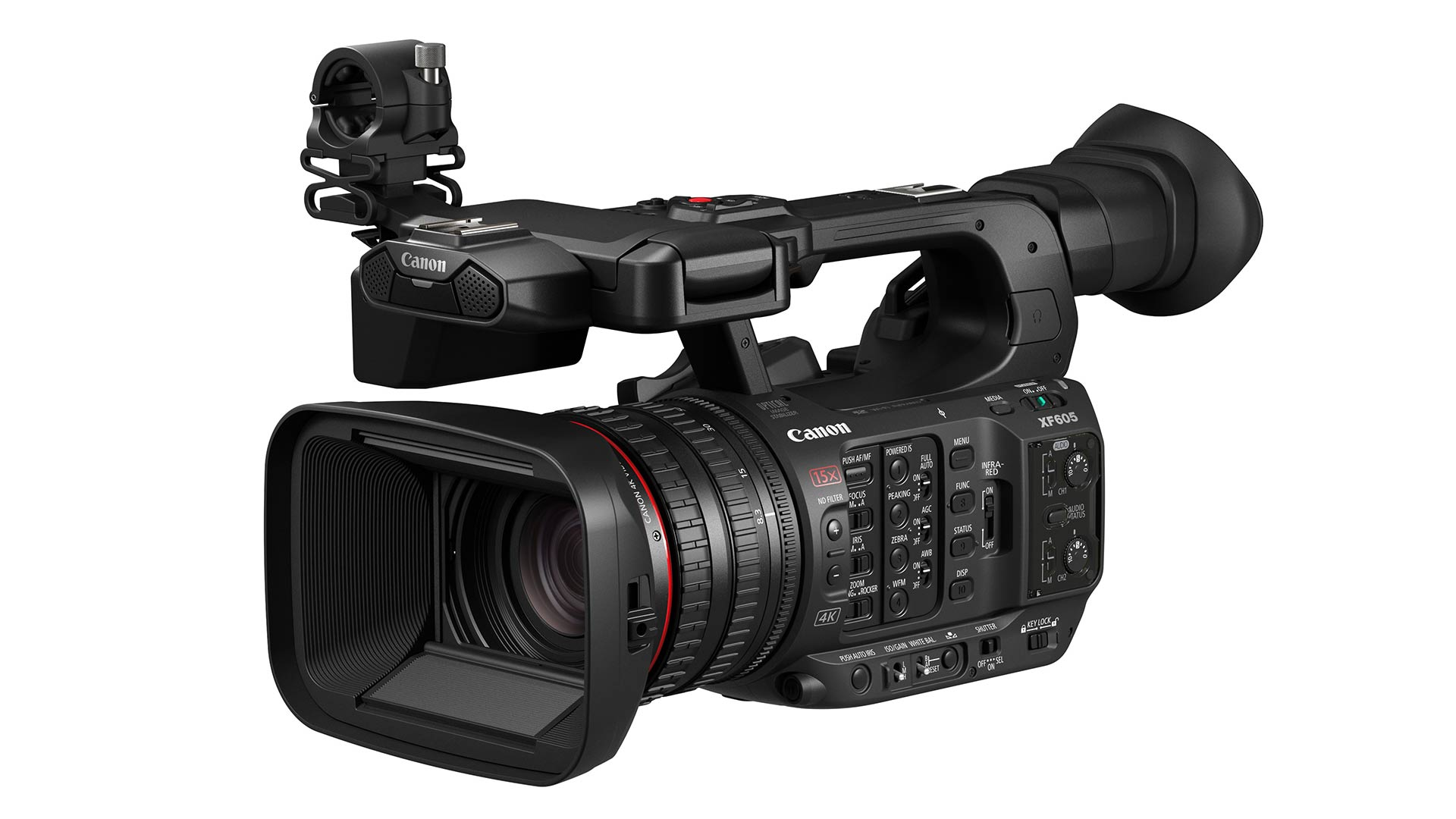 The new Canon XF605. Image: Canon.