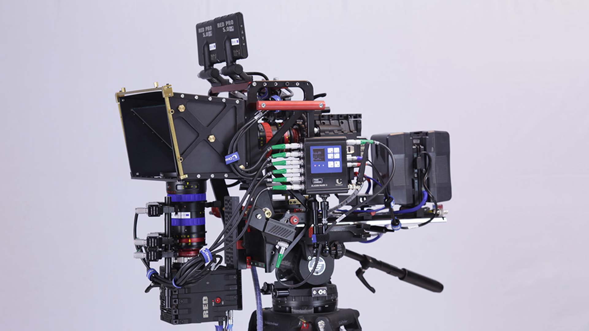 A CinemaVision 3D camera rig. Image: CinemaVision.