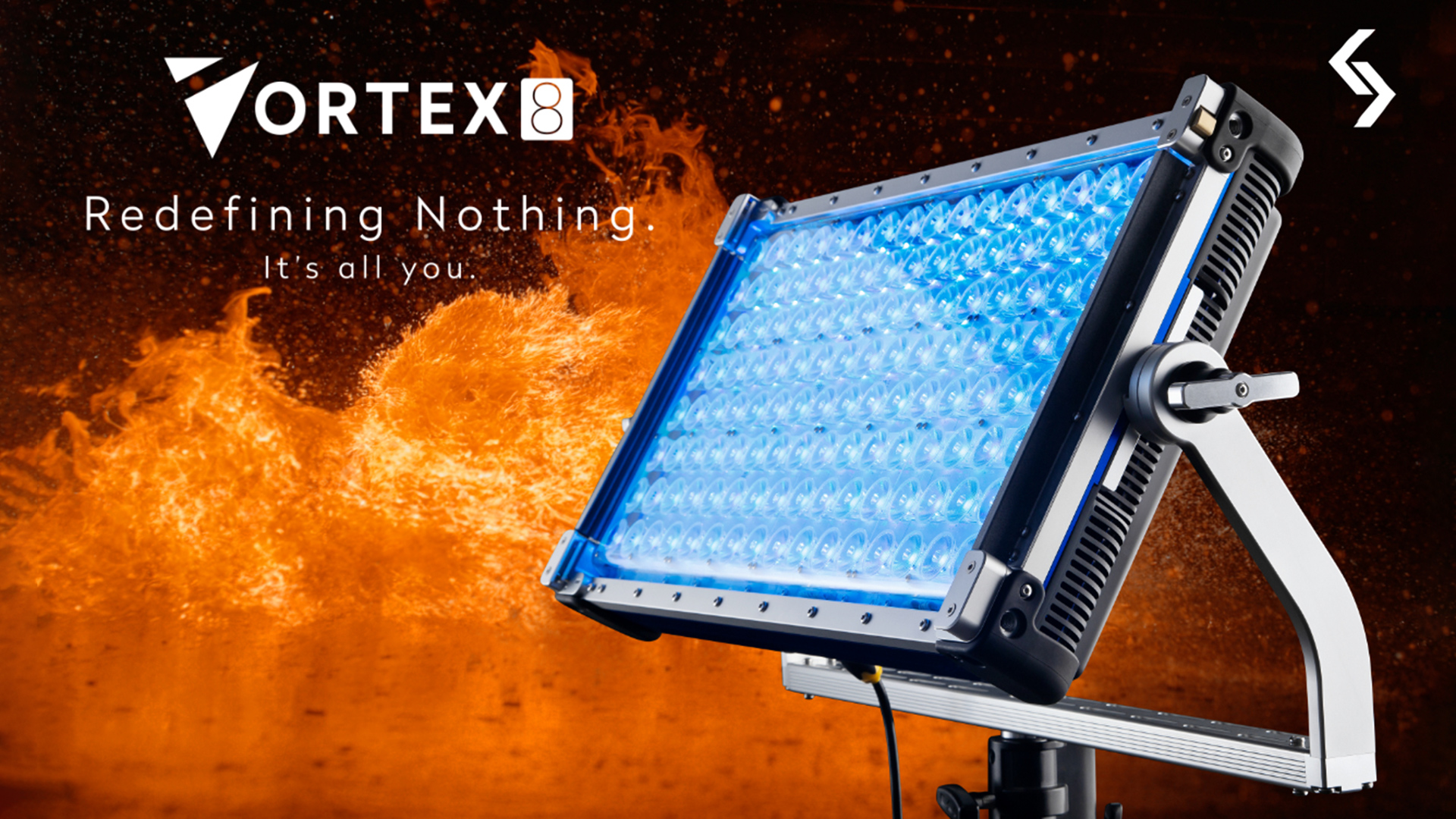 The Creamsource Vortex8 LED light