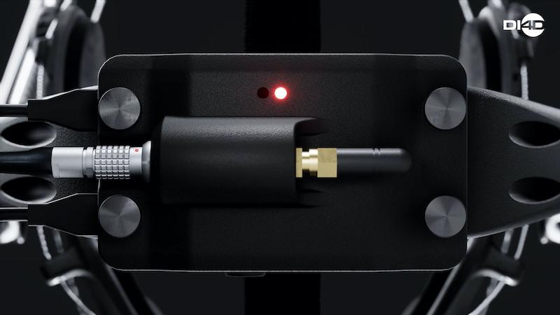 DI4D HMC facial capture headset.