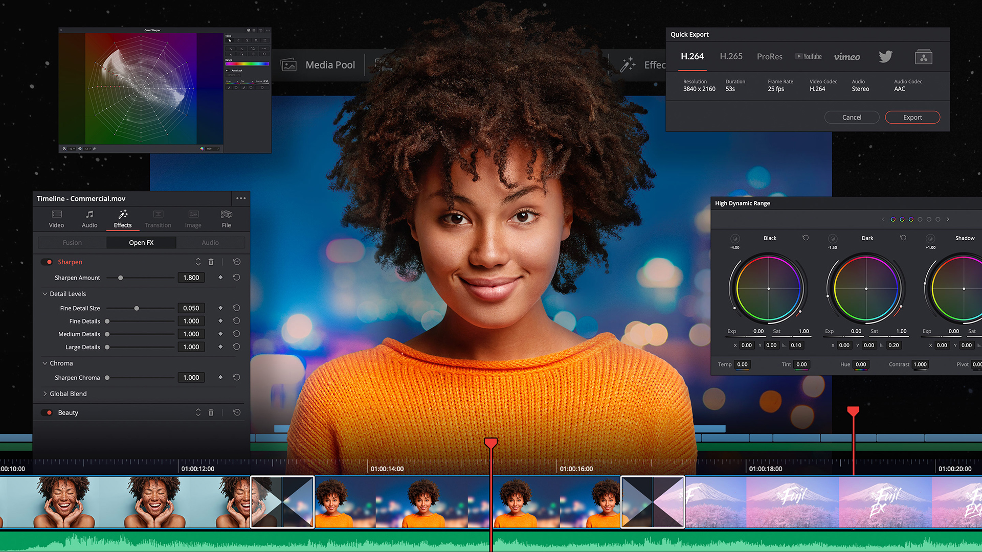 DaVinci Resolve 17 has been announced.
