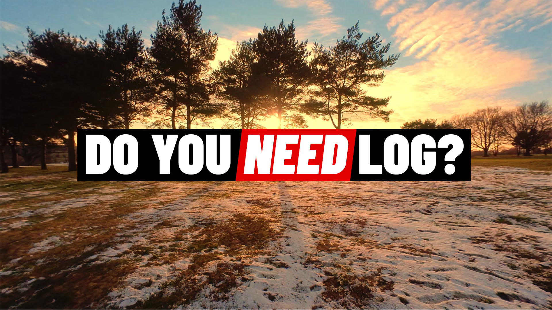 Do you need to use Log all the time?