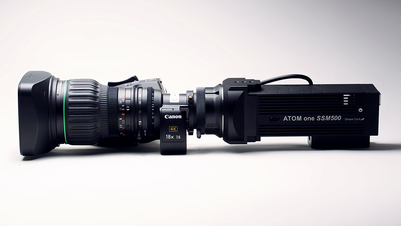 The Dreamchip Atom One SSM500 camera. Image: Phil Rhodes.