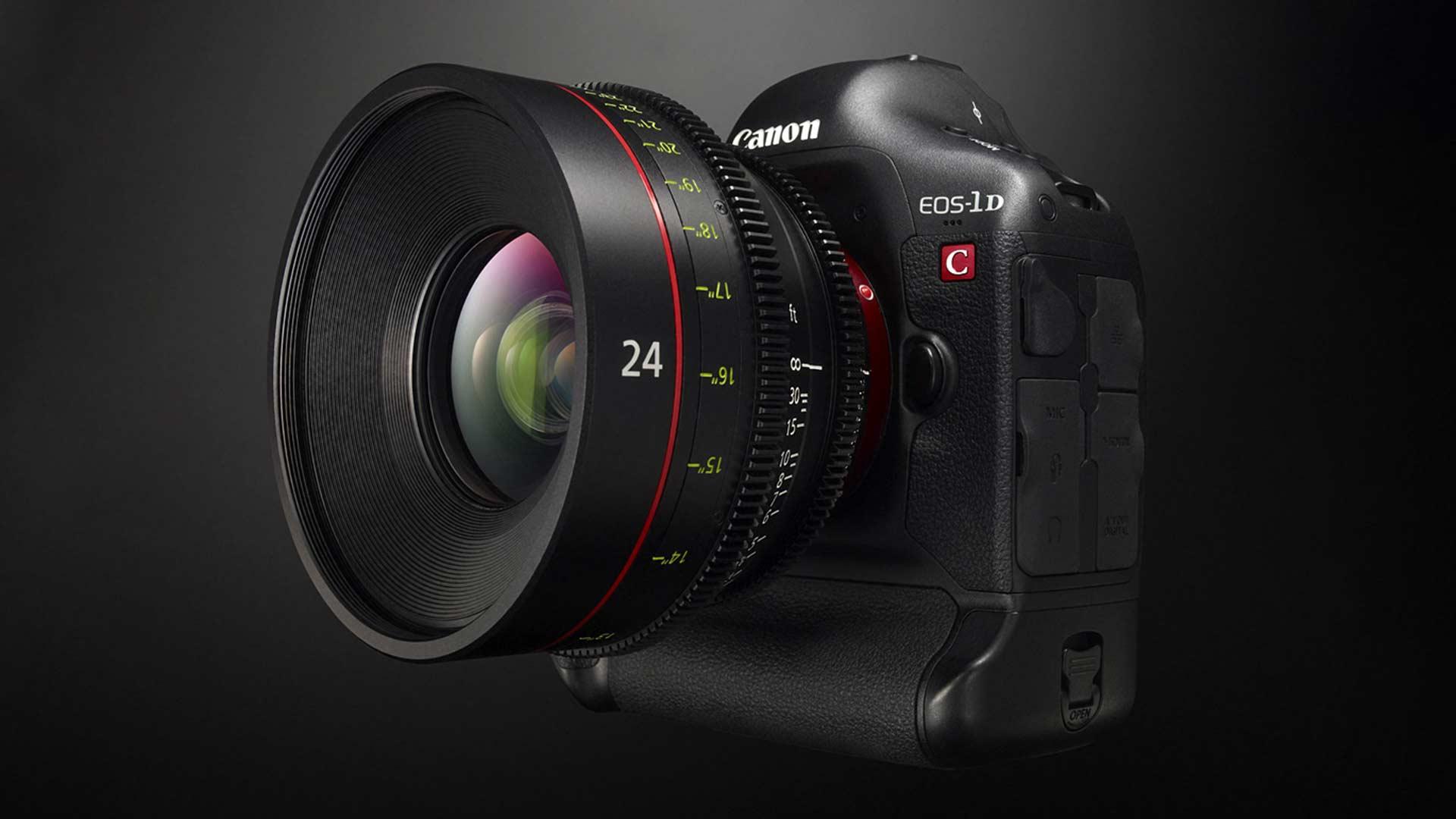 The Canon EOS 1D C. Image: Canon.
