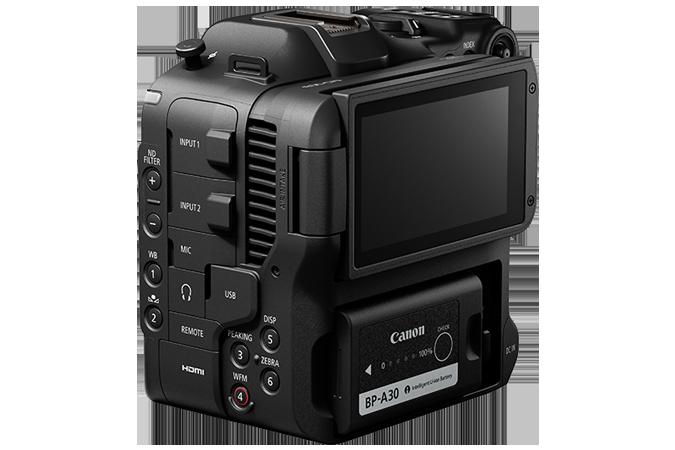 Canon C70 rear