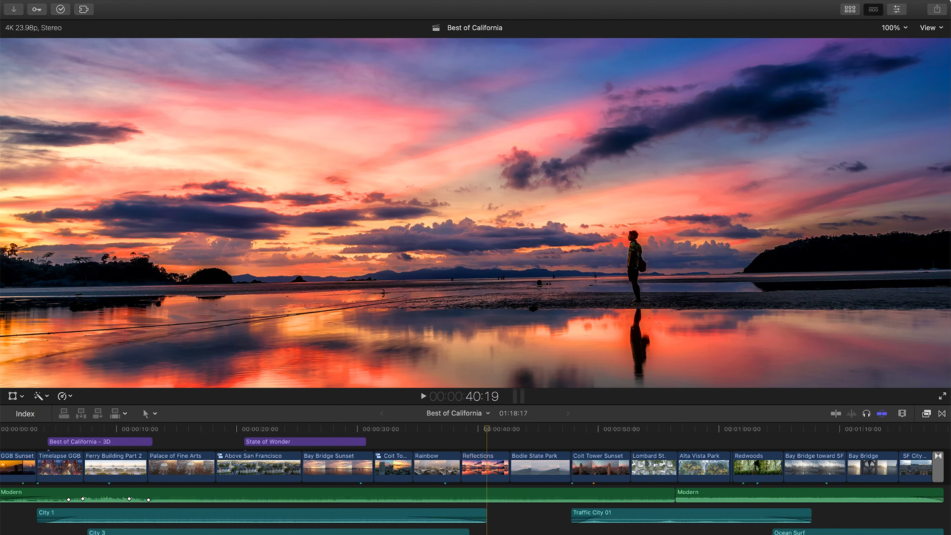 Apple's Final Cut Pro X 10.5. Image: Apple.