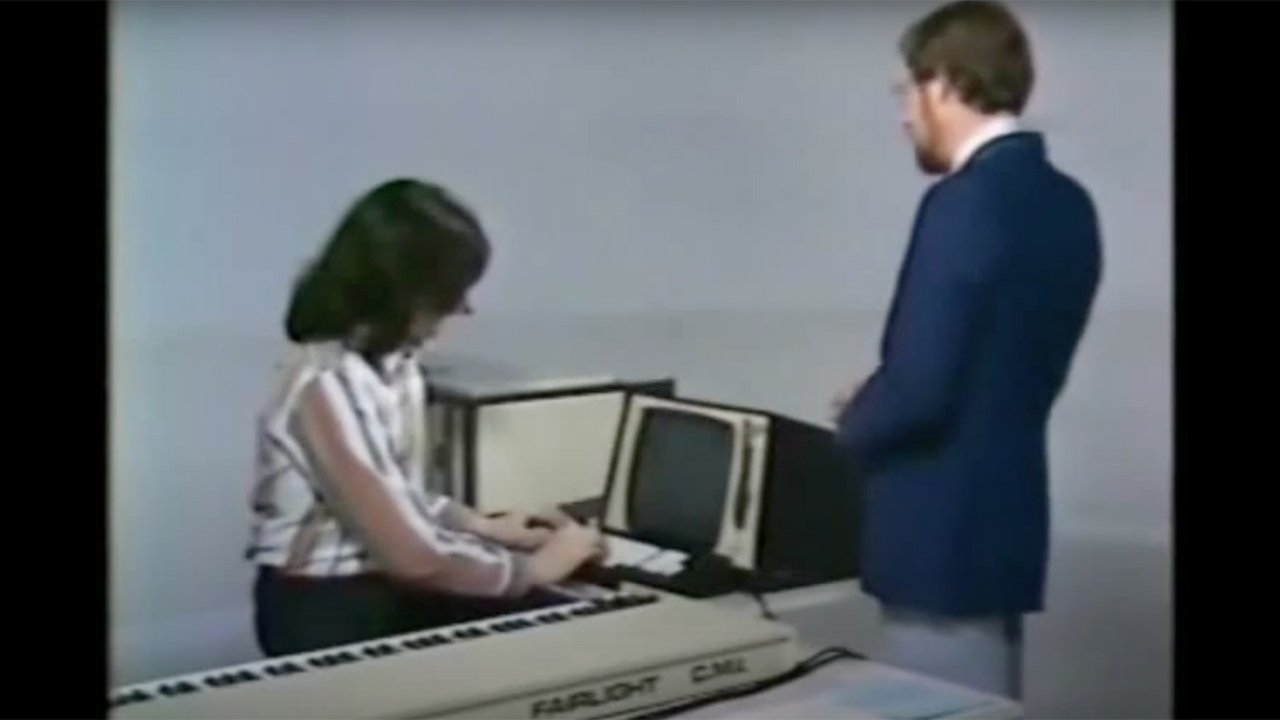 Fairlight CMI, making one of its first appearances in 1980.