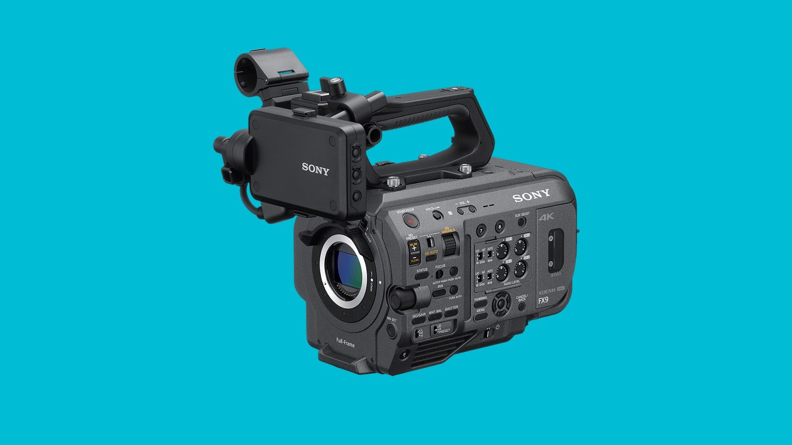 Sony FX9 new firmware