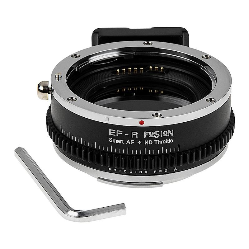 Fotodiox Vizelex ND Fusion Smart AF Canon EF to Canon EOS RF Lens Adapter