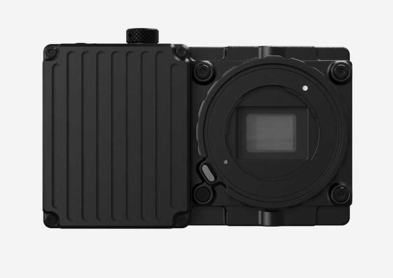 Freefly Wave camera front view. Image: Freefly Systems.