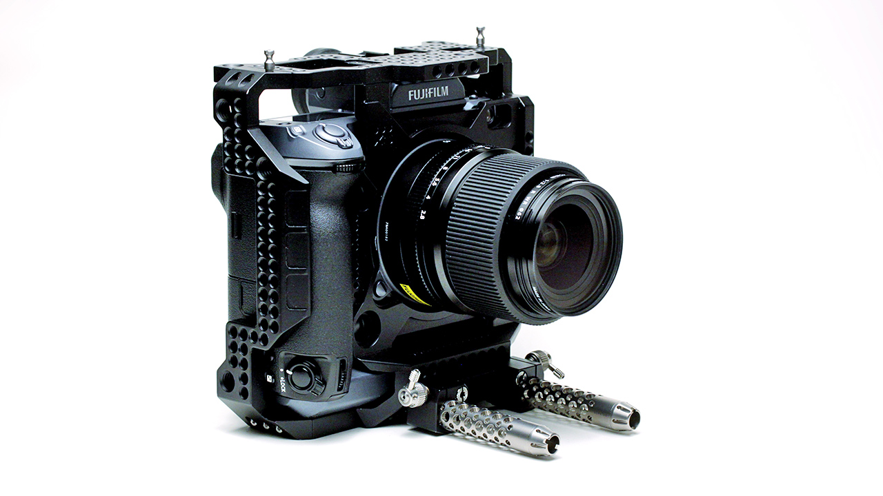 The Fuji GFX100 with Alpa XO Exoskeleton Ultimative Kit - an optional extra at £4085 plus VAT.