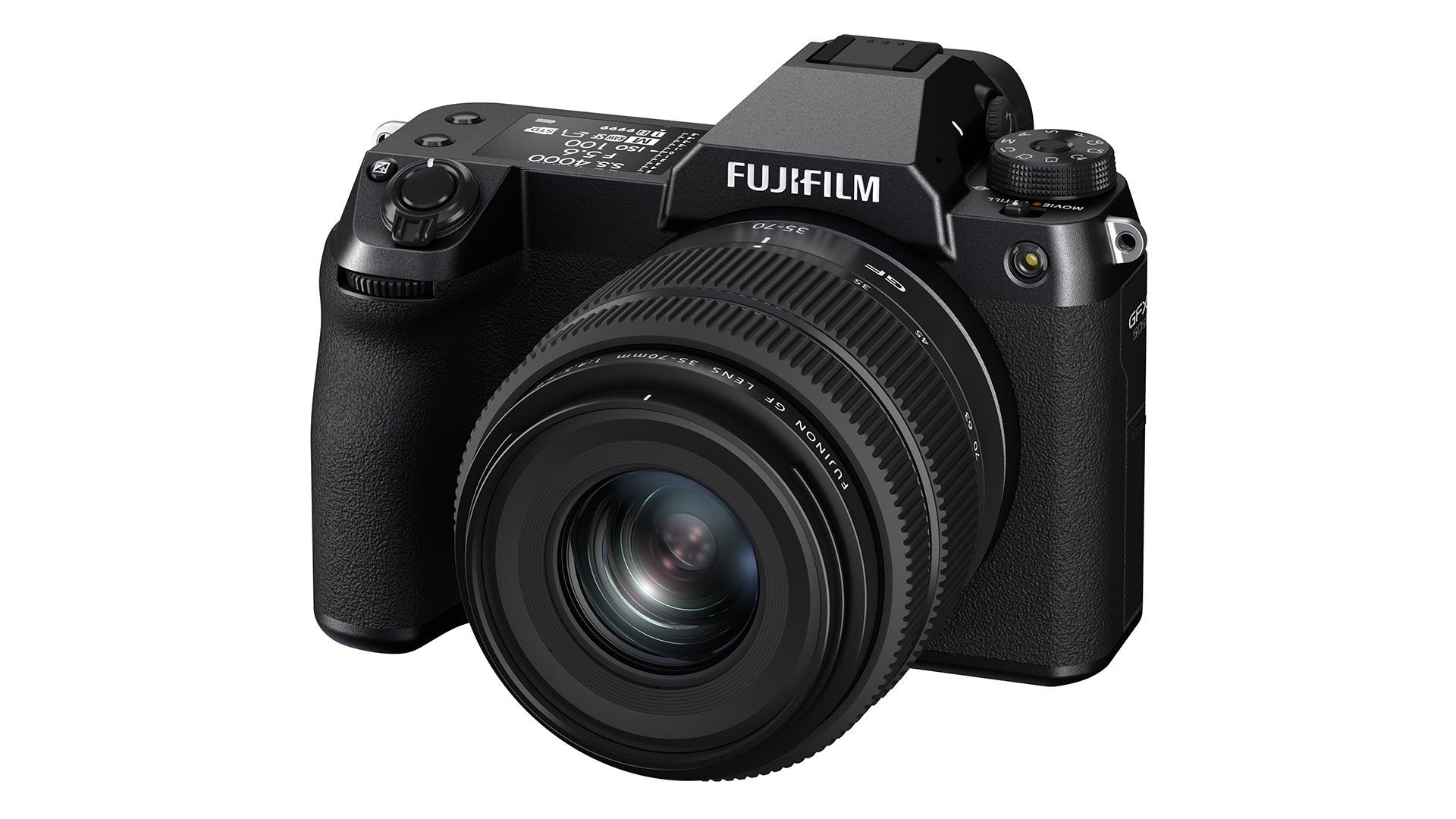 The new Fujifilm GFX 50S II. Image: Fujifilm.