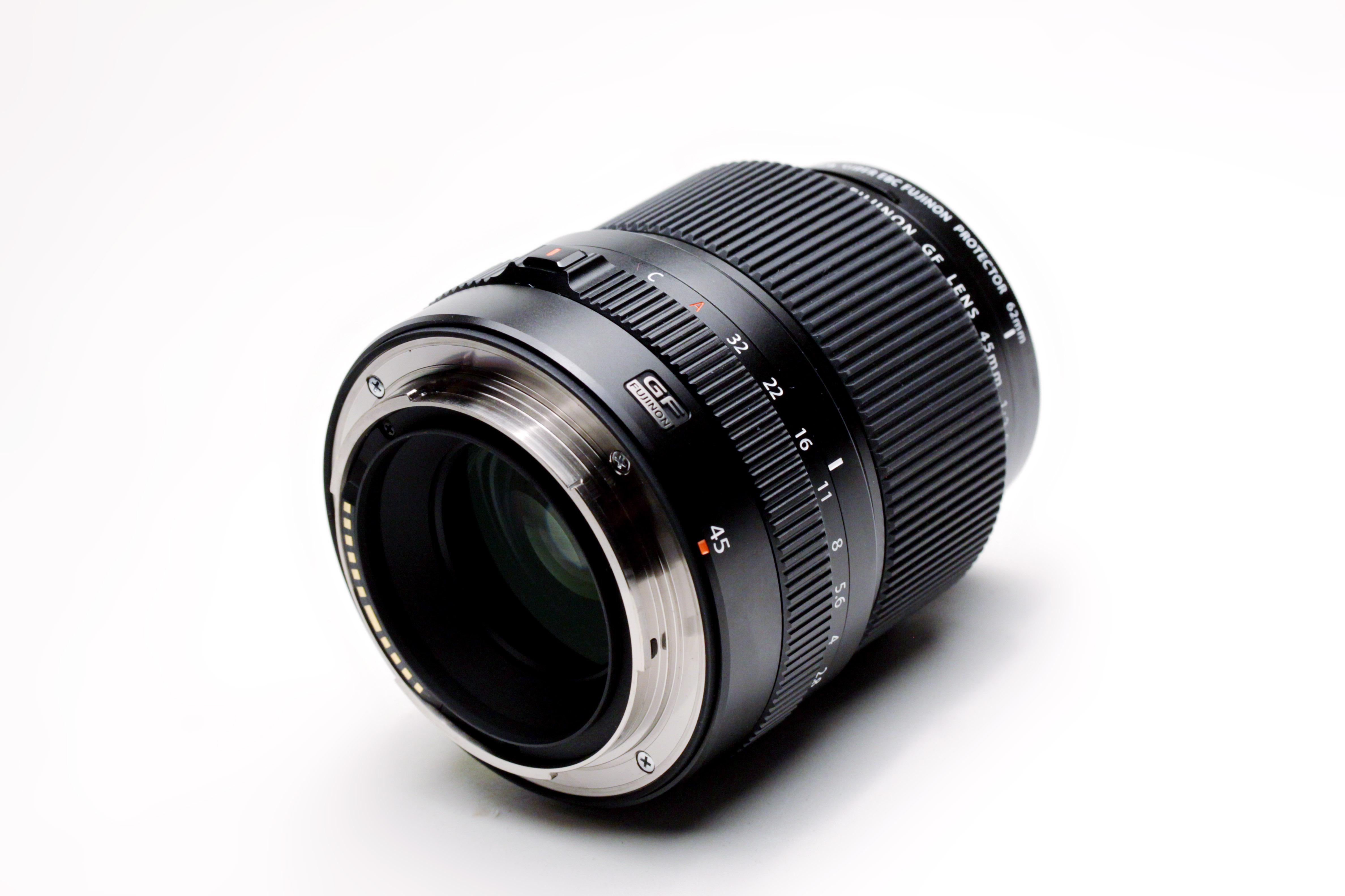 Fujifilm GF 45mm f2.8 R WR lens.