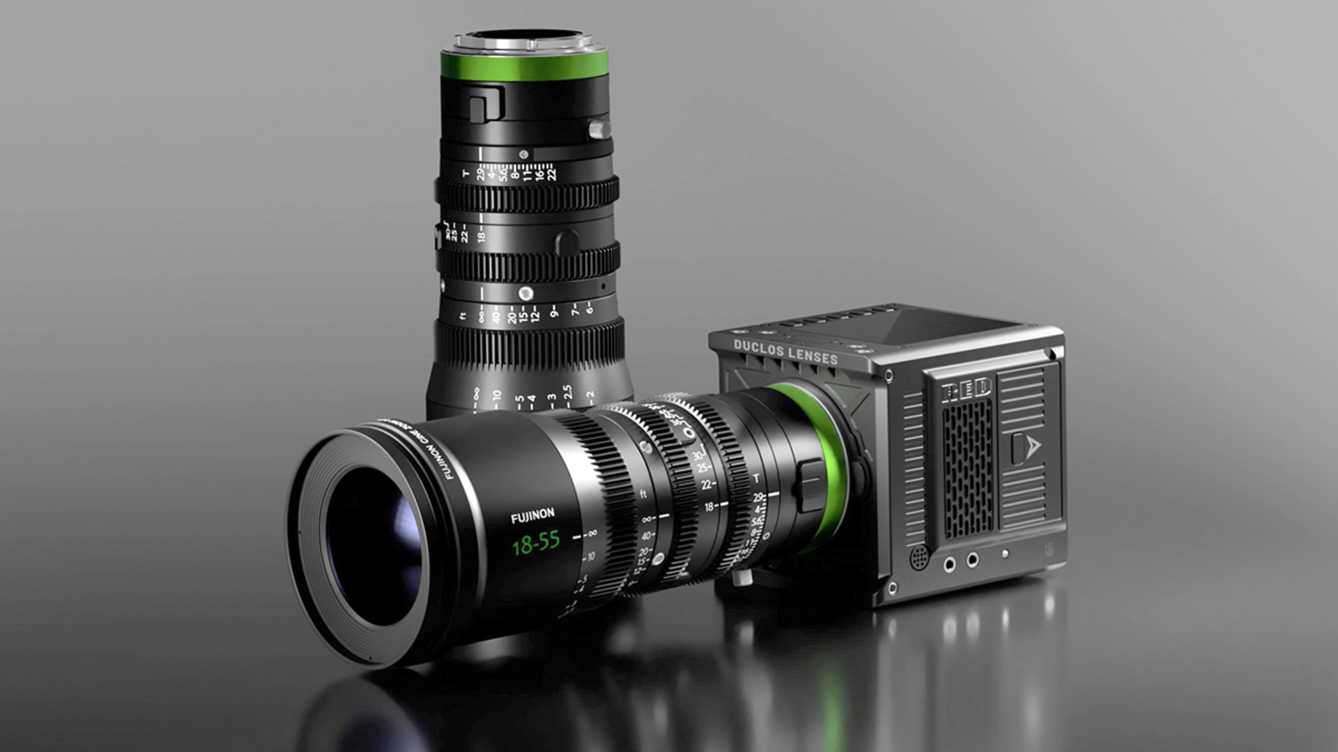 The Duclos MK-R lens conversion.