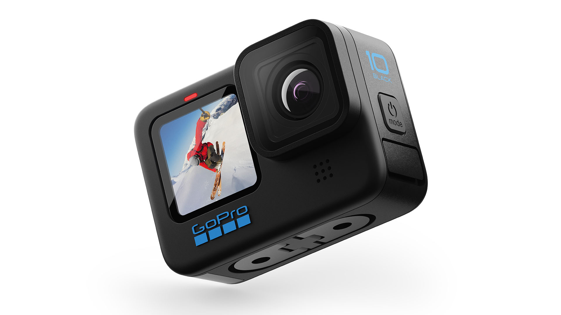 The newly announced GoPro HERO10. Image: GoPro.