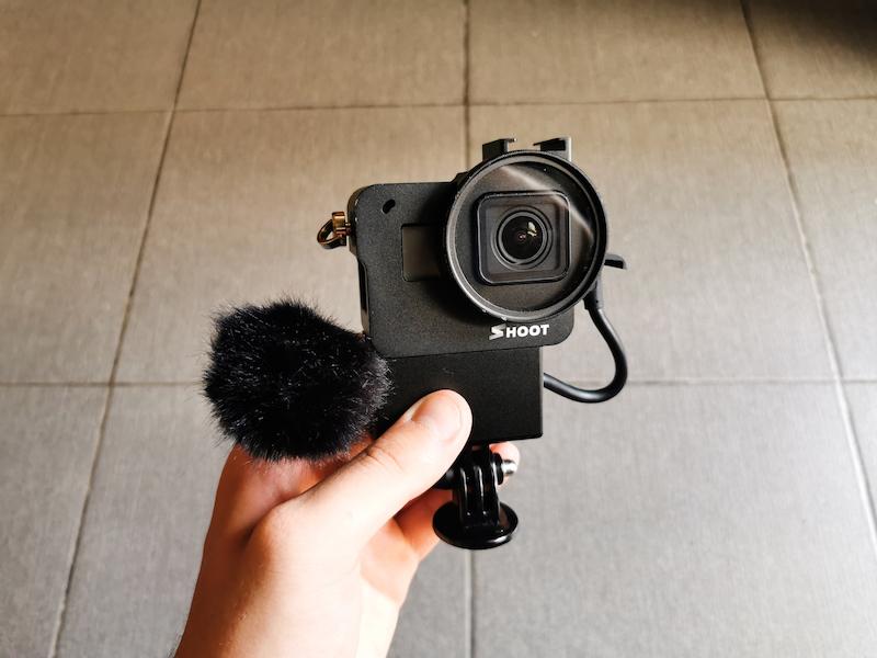 GoPro Hero7 as vlogging camera