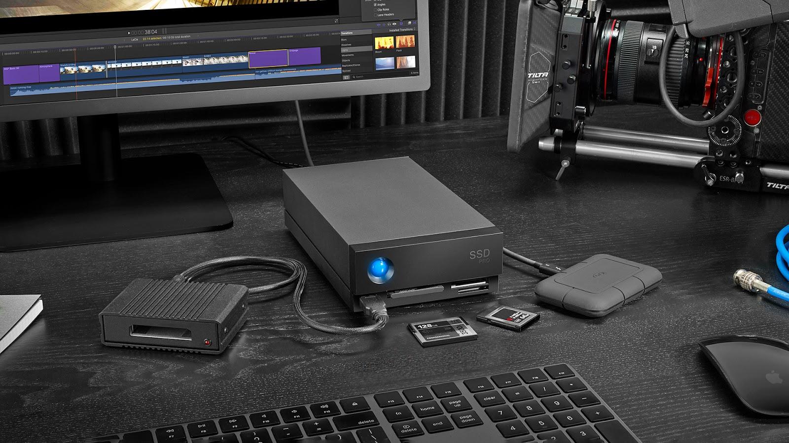 The LaCie 1big Dock SSD. Image: LaCie.