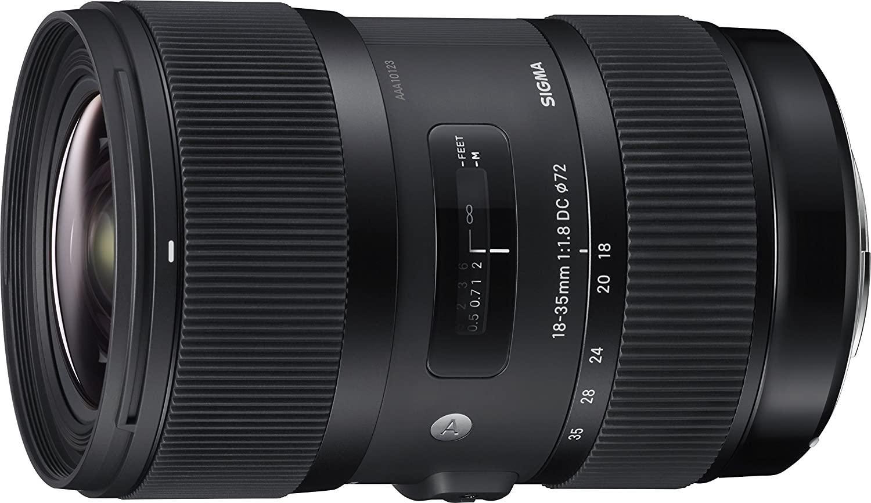 Sigma 18-35mm F/1.8 Art Lens