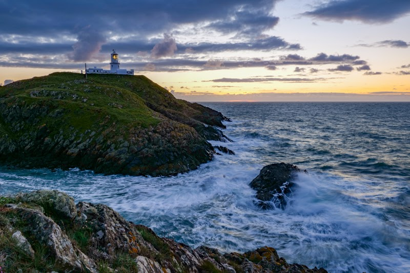 Strumble Head Lighthouse taken with the Panasonic S5