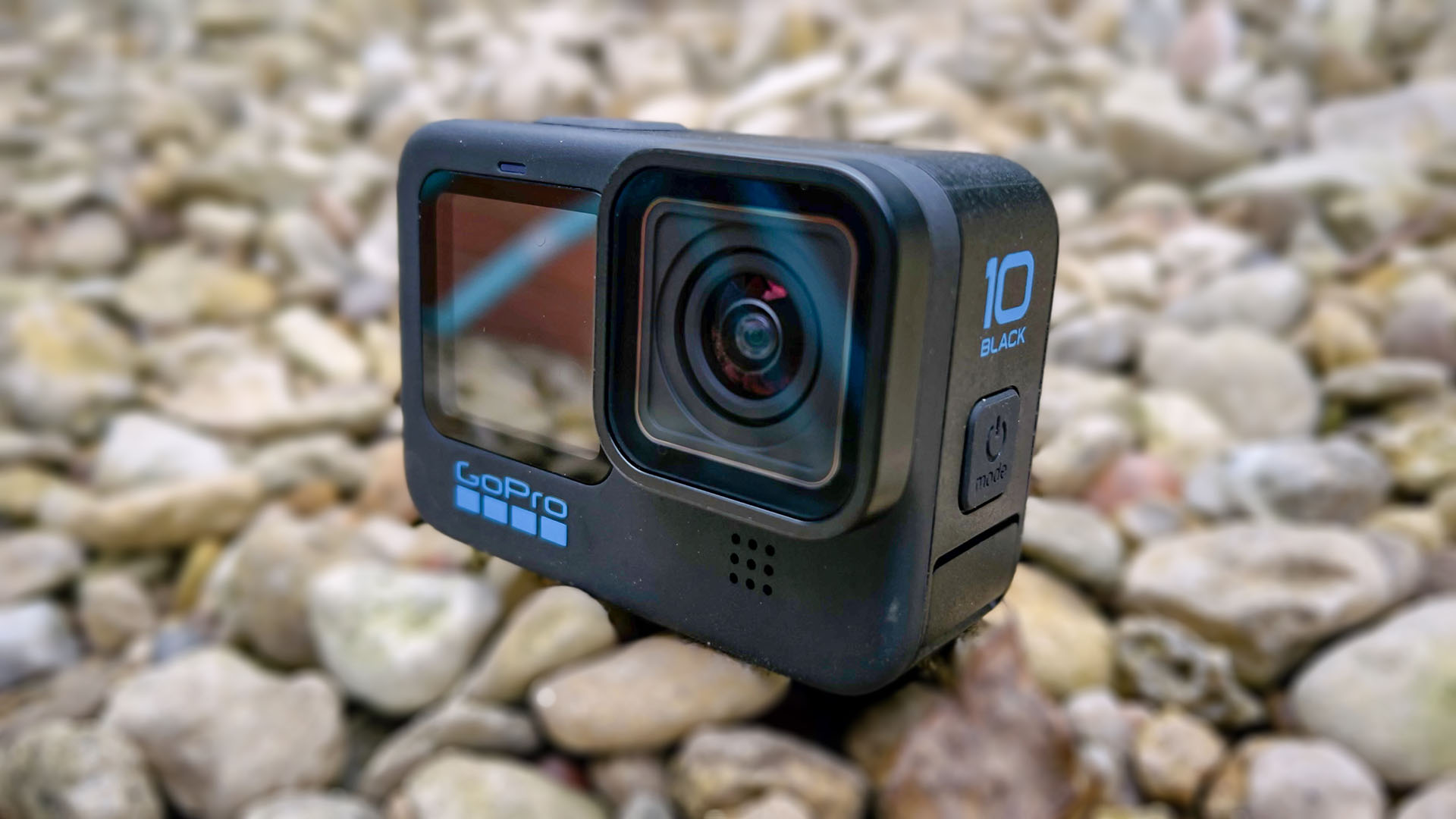 The brand new GoPro HERO10 Black.