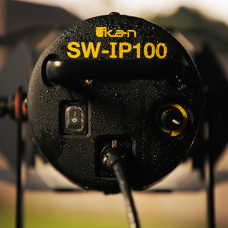 For filming in the worst conditions. The Ikan SW-IP100. Image: Ikan